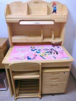 子供の頃使っていた学習机今どうなっていますか?