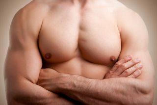 厚い胸板が大好物の人