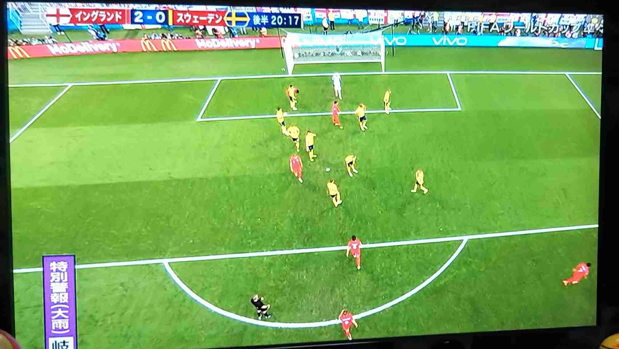 【実況・感想】ワールドカップ ロシア 準々決勝2日目