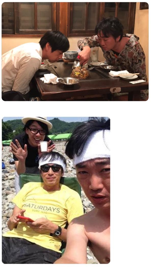 小沢で猛暑を乗り切るトピ