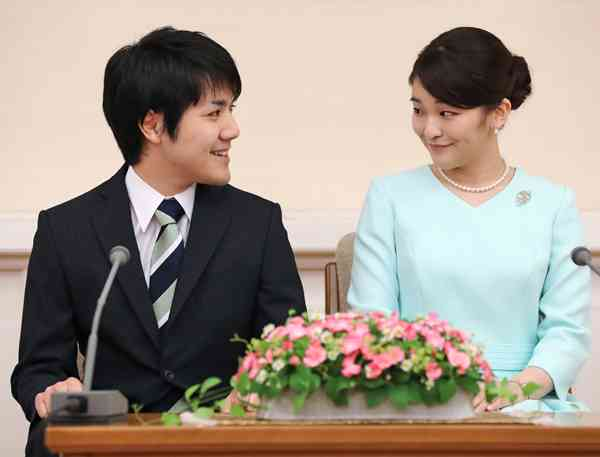 小室圭さん 留学前に赤坂御用地に