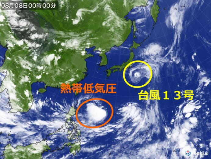 【台風13号】情報共有