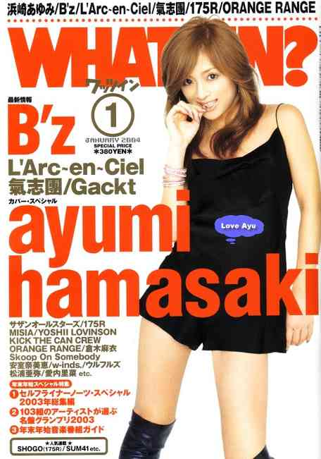 いろんな浜崎あゆみの表紙がみたい