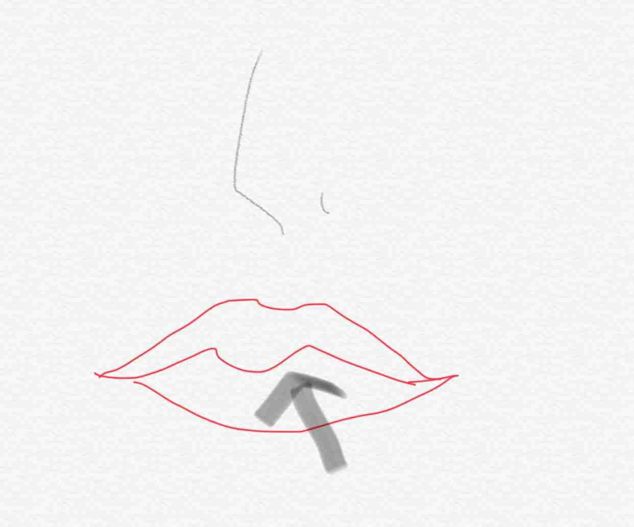 鼻の下が長い
