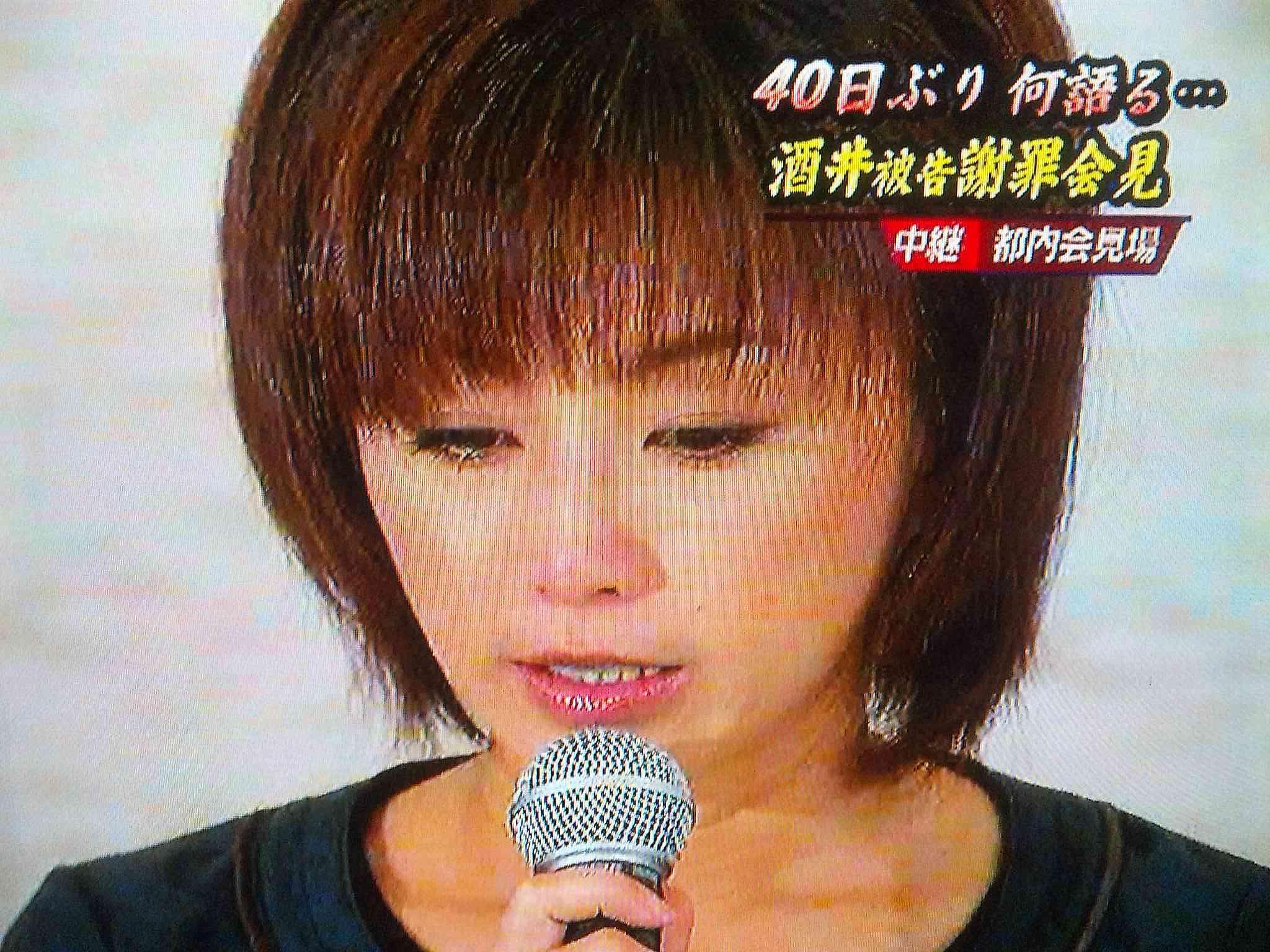 酒井法子が女優復帰会見「心の底から感謝」