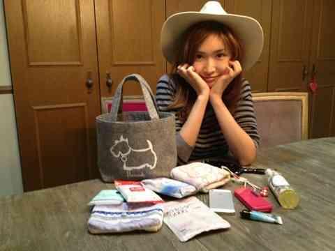 バッグの中身。 紗栄子(Saeko) オフィシャルブログ Powered by Ameba