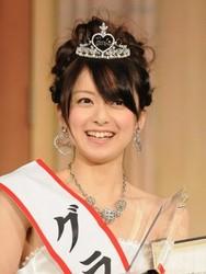 ミスキャンパスの頂点を決めるMiss of Miss 2012 グランプリは立命館大学2年の高橋加奈代さん