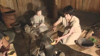縄文人の生活再現 - YouTube