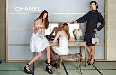 畳の上にハイヒール…シャネルの新春キャンペーンがシュールな件
