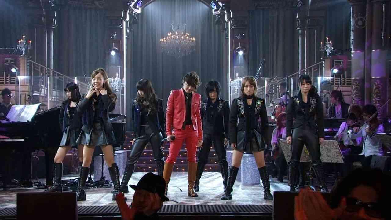 """T.M.Revolution西川貴教、FNS歌謡祭で念願のAKB48""""初センター""""!でも公開処刑www"""