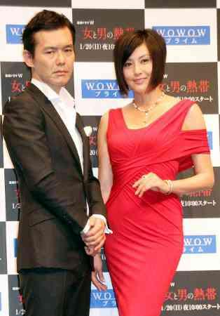 藤原紀香、初共演の渡部篤郎と濃厚ラブシーンに自信!「とても誇れる」