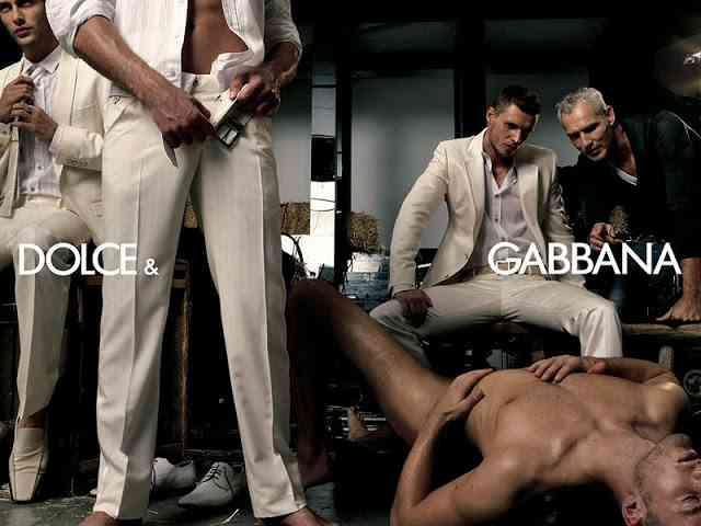 ドルチェ&ガッバーナの広告がおかしい