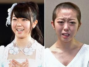 G1 - Cantora japonesa raspa cabelo como castigo por passar noite com jovem - notícias em Música