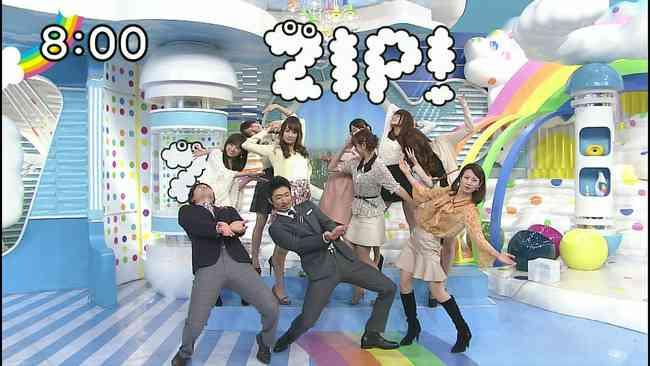日テレ「ZIP!」の出演者がやらせ暴露www「ジョジョ立ち」をストレッチで人気と紹介w