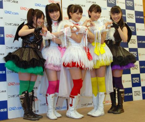 ももいろクローバーZ、AKB48に恐縮「すごい方々だから」