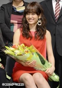 元AKB48前田敦子、最優秀新人女優賞をフライングゲットwww