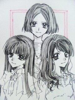 種村有菜(『神風怪盗ジャンヌ』作者)が描いたPerfumeが可愛すぎるwww