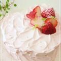 苺のハート♡デコレーションケーキ by nyonta [クックパッド] 簡単おいしいみんなのレシピが138万品