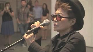 VOICE PIECE FOR SOPRANO & WISH TREE at MoMA, Summer 2010 by yoko ono - YouTube