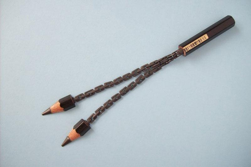 信じ難い器用さ!一本の鉛筆を削って作る、cerkahegyzoの鉛筆彫刻 写真15枚