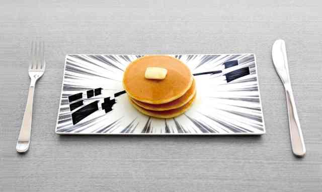 これは欲しいww 食事が一気に楽しくなるマンガ皿「Comicalu (コミカル)」   DDN JAPAN