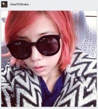 仲里依紗、ピンク色のヘアを染め直す「仕事だからしゃーない」