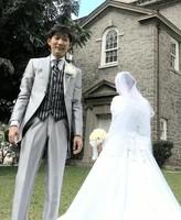 ノンスタ石田明 オアフ島で挙式「いや〜幸せです」 井上は仕事で欠席 (デイリースポーツ) - Yahoo!ニュース