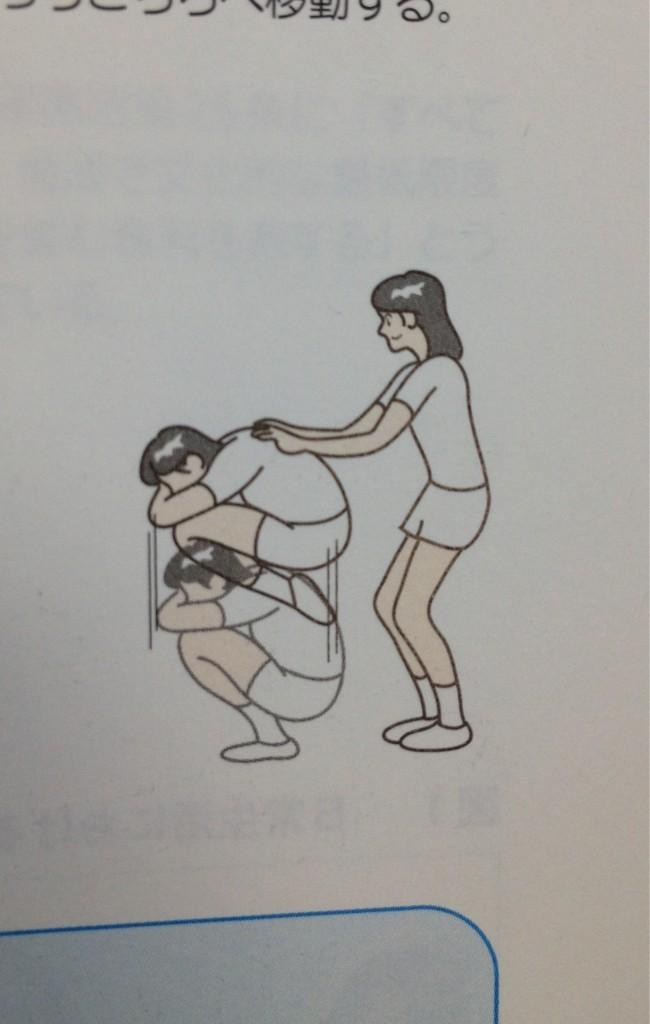 「体育の教科書の挿絵」にツッコミが追いつかない件
