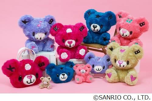 サンリオが大人向け新キャラ、ポジティブで後ろ振り向かないクマ。 | Narinari.com