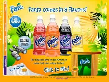 【斬新】世界初! 炭酸飲料『Fanta』の味見ができるプリント広告が登場
