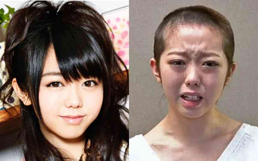 Japanese pop star shaves head in penance for sex scandal - Telegraph