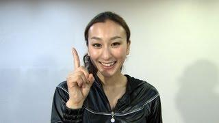 THE ICE 2012 浅田舞のフィナーレダンスレッスン - YouTube