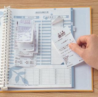 貯まる財布の条件!レシートは2日に1回整理、カードは7枚