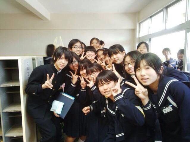 Sexy Zone松島聡の卒業記念写真ww