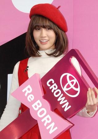 元AKB48・前田敦子、トヨタから新型クラウンを貰う! ※前回はFJクルーザー