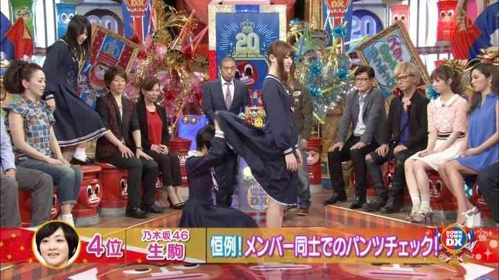 日本テレビ系『ダウンタウンDX』で乃木坂46が放送事故www