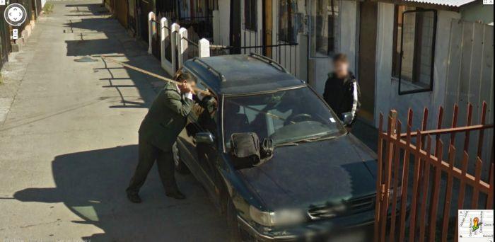 事件の起きまくっているグーグルストリートビュー