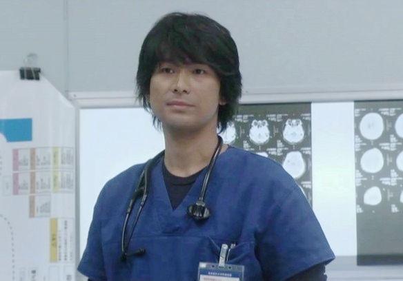 医療ドラマの江口洋介。