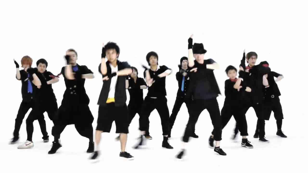 男11人で モーニング娘。 - 恋愛ハンター を踊ってみた.HD - YouTube