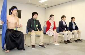 企業「採用面接を普段着で」←裸で来る学生が現れる