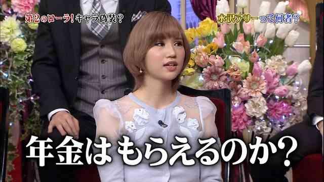 """""""第2のローラ""""水沢アリー、キャラ偽装疑惑にコメント - モデルプレス"""