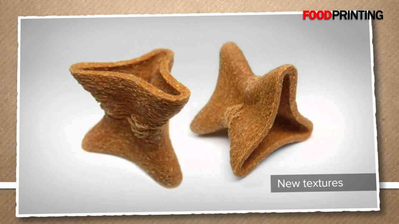 3D Printing: now printing food too - YouTube