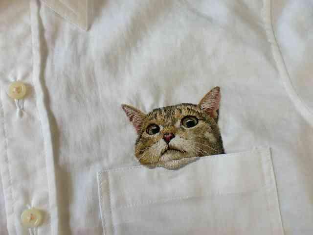 致死量のかわいさ「猫の刺繍シャツ」に世界が絶賛悶絶中 | DDN JAPAN
