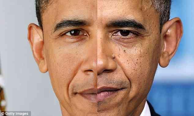 オバマ大統領老けすぎww