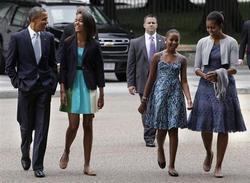 オバマ大統領の子育てが見事すぎ「もし娘がタトゥーをしようとしたら?」