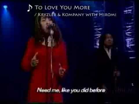 To Love You More (LIVE) Hiromi - YouTube