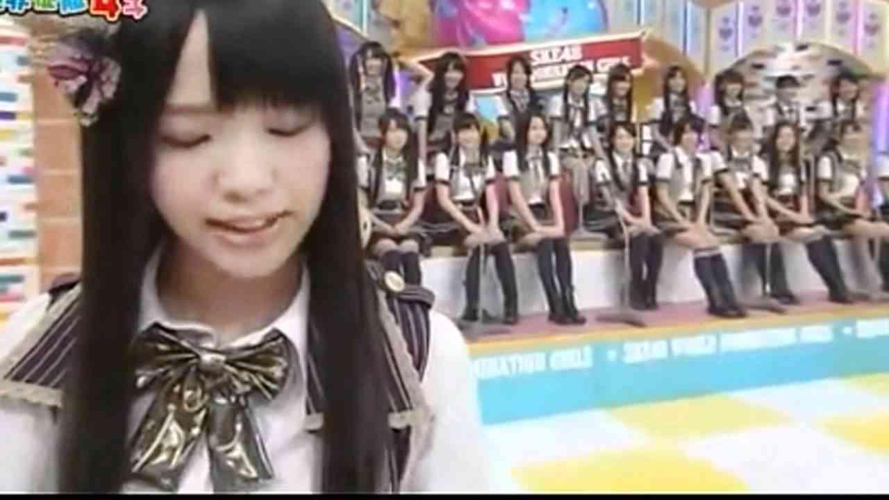 SKE48 松村香織の痛いキャスター - YouTube