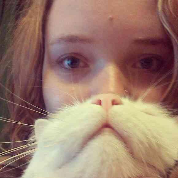 飼ってるアナタはレッツ・トライ!! ネコと飼い主の素敵な遊び「ネコ deヒゲ」写真25連発 | Pouch[ポーチ]