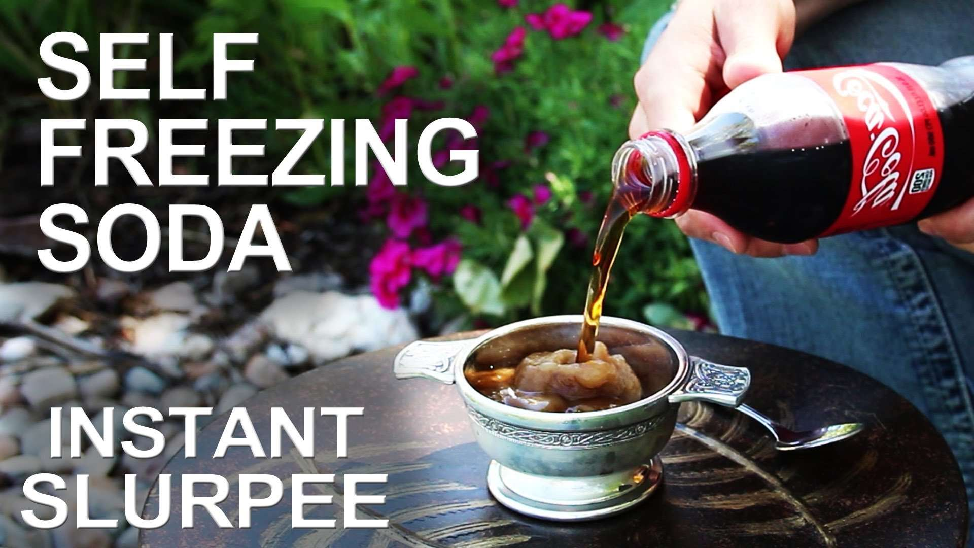 Self Freezing Coca-Cola (The trick that works on any soda!) - YouTube