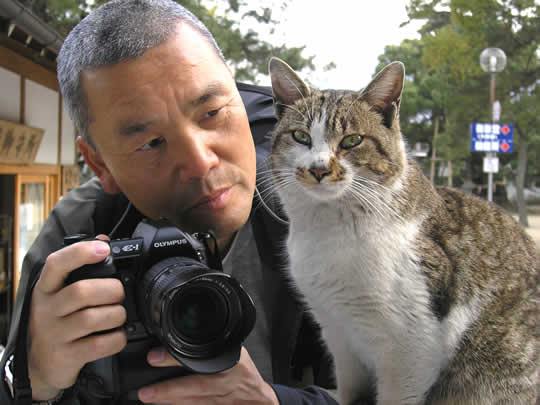 ネコ好き名カメラマン・岩合光昭が撮った世界各地のネコ写真展開催
